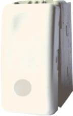 Intrerupator cu LED STIL Alb