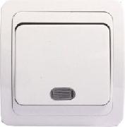 Intrerupator simplu cu LED Eco