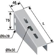Jgheab consola pt. profil U1