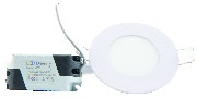 Spot LED slim rotund ST 6W lumina calda