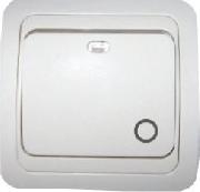 Intrerupator revenire scara/sonerie cu LED Eco Premium