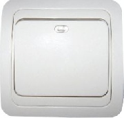 Intrerupator simplu cu LED Eco Premium