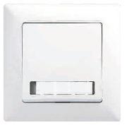 Visage buton sonerie LED+eticheta ST