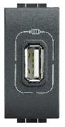 Conector USB antracit