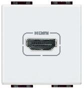 Mufă HDMI albă