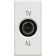 Priză TV TATA, albă