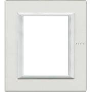 Ramă rectangulară 3+3M albă