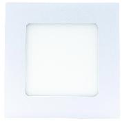 Spot LED patrat 6W, lumina rece, aplicat