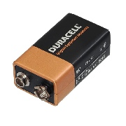 Baterie alkalina Duracell 9V