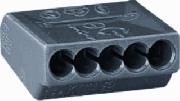 Clema Wago (conector doza) 5x2.5mmp mat